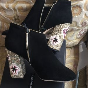 Dolce and Gabanna short booties